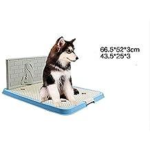 xueyan& Inodoro para Perros Grande Big Poop urinario para Perros Pee Bowl Pet Supplies, Blue