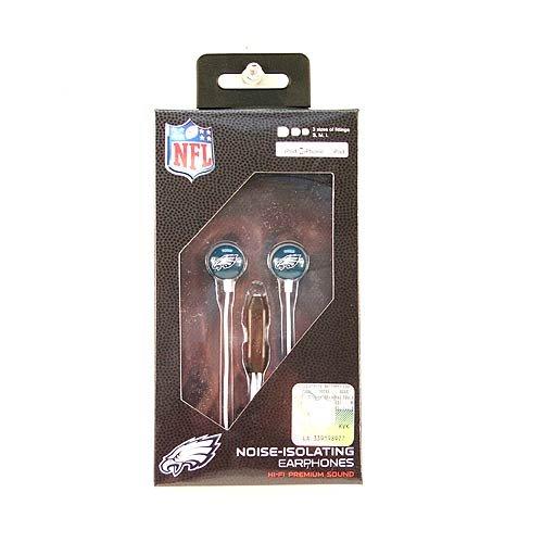 Zeikos NFL Philadelphia Eagles iHip-Ohrpolster mit Mikrofon (Nfl Gear Eagles)