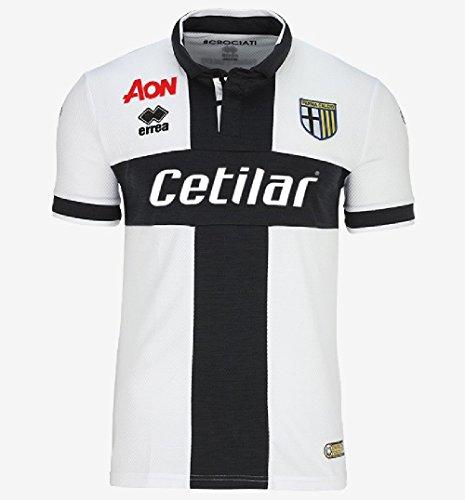Parma Calcio 1913 Official Errea Home Football Shirt 2017-2018