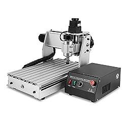 ZauberLu Fräsmaschine 3020T CNC Graviermaschine 3 Achsen Mit USB Engraver Machine Gravur Maschine für Metall Glas Holz Stein
