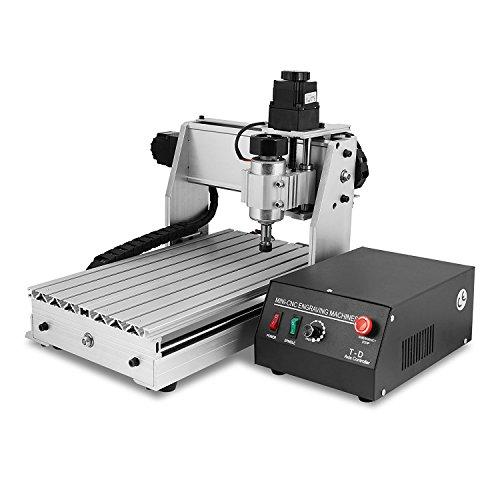 ZauberLu Fräsmaschine 3020T CNC Graviermaschine 3 Achsen Mit USB Engraver Machine Gravur Maschine für Metall Glas Holz Stein - Stein Maschine Carving