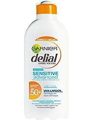 Leche Solar Delial Sensitive Advance FPS50+ 400ml de Garnier
