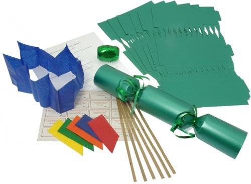 10 x make your own large 14 35cm christmas cracker kits 10 x make your own large 14 35cm christmas cracker kits green solutioingenieria Choice Image