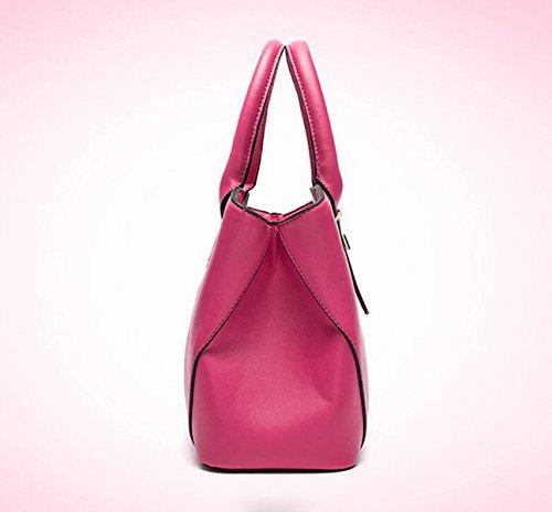 Cross - Stil Mode Handtasche Handtaschen Umhängetasche Messenger Bag Einfache Wilde Freizeit Purple