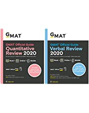 GMAT 2020 - Quantiative Review & Verbal Review - Book + Online (Set of 2 books)