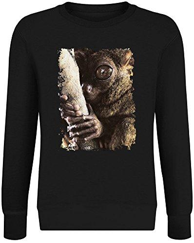 Tarsier Baum Hugger - Tarsier Tree Hugger Sweater-Jumper Pullover for Men & Women - Soft Cotton & Polyester Blend DTG Printing Unisex Clothing Large -
