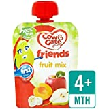 Vache Et Porte Fruit Mix Sachet De Fruits 80G - Paquet de 6