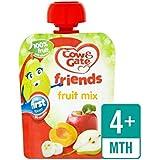 Vache Et Porte Fruit Mix Sachet De Fruits 80G - Paquet de 2