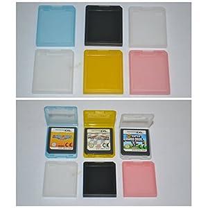 6x Spielehüllen für Nintendo DSi XL, DSi und DS-Spiele Module