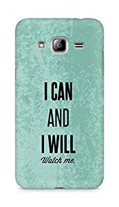 AMEZ i can and i will watch me Back Cover For Samsung Galaxy J3 (2016 EDITION)