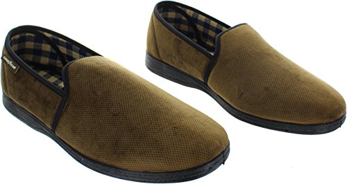 Goodyear , Chaussons pour homme Marron
