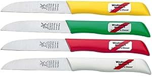 Windmühlen 2629325600002 Gemüsemesser 8 cm, rostfrei, Kunststoff, sortiert, 23 x 4 x 2.4 cm
