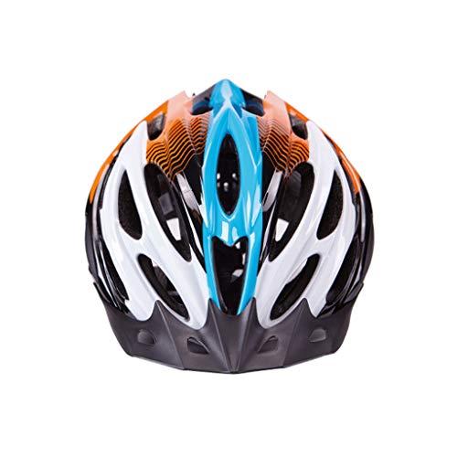 Mountainbike-Helm, Fahrradhelm, Sonnenbrille mit offenem Gesicht für Motorradrennen, Sportschutzhelm (Farbe : Gelb, größe : L)