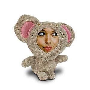 Foto Puppe mit eigenem Gesicht - Original 3D-Buddies Fotopuppe - Maus Speedy