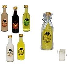 Lote de 25 Botellas de Licores Sol (Sabores a Elegir) en Bolsas de Tull