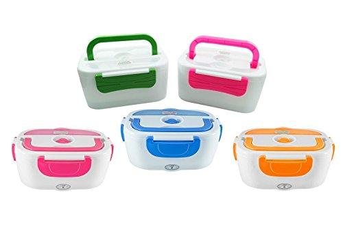 Scaldavivande Elettrico da auto Portatile Lunch Box Schiscetta elettrica ideale per il...