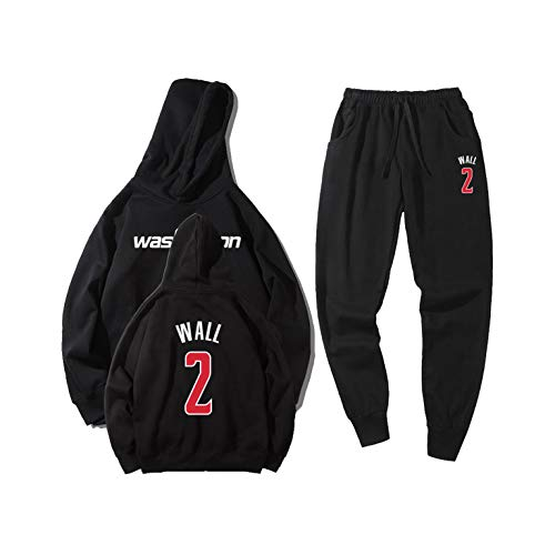 VOLY John Wall 2# Basketball-Kleidung, Basketball-Trikot Gr. 56, Schwarz