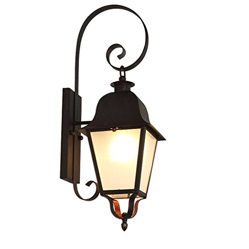 Applique Murale Lampes Pour Chambre - Extérieur Étanche Jardin Lumières Rétro Extérieur Extérieur Balcon Nostalgie Works Lampes