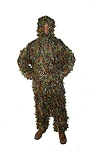 3D Leaf Ghillie Yowie combinaison des bois et forêts KAS Tenue de Camouflage pour chasse-Taille L