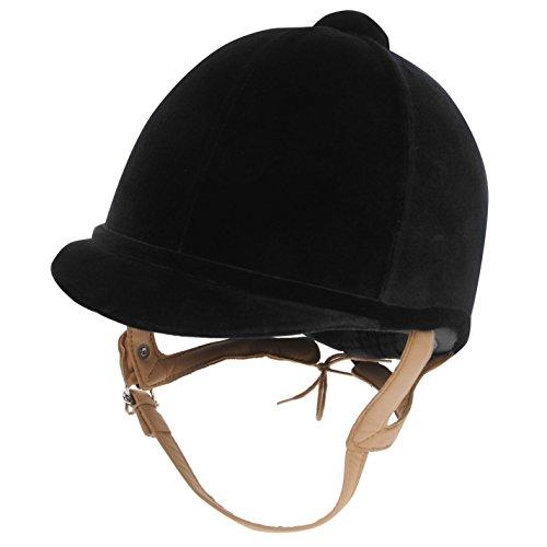Charles Owen Fian Velvet Riding Hat 51cm black (Charles Owen Hat)