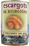 French Burgundy snails Bontout-escargots de bourgogne x 48 - 250 gr - 4 serves