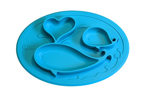 immediate-dispatch-smiths-mini-mat-one-piece-silicone-placemat-plate-blue-free-smiths-caterpillar-si
