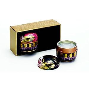Dethlefsen & Baulk GmbH Boîte à thé Tamiko en style japonais, Acier inoxydable, Multicolore, 8x 8x 8cm