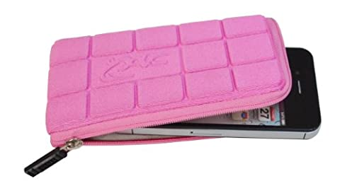 Croco CAS1822 Super Chocolate Zipper Case for iPhone 3/3G/4/4S, iTouch