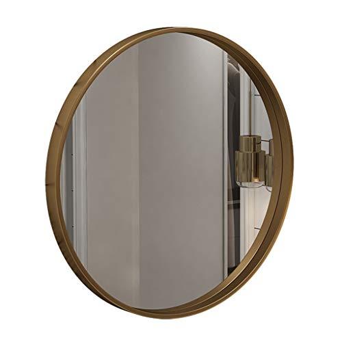 Specchi per il trucco specchio sospeso per specchio da bagno a parete rotonda | specchietto da trucco e da trucco vanity a parete circle | specchio circle plane | specchio decorativo | montatura i