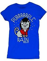 David and Goliath Womens T-shirt - Purple Rain - Royal Blue