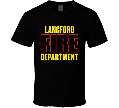 Langford Fire Department Personalized City T Shirt