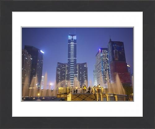 framed-print-of-citic-plaza-at-dusk-tianhe-guangzhou-guangdong-china-asia
