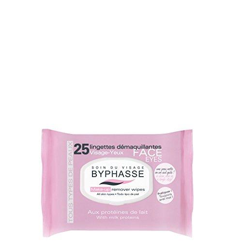 25 Lingettes démaquillantes aux Protéines de lait - Tous types de peaux