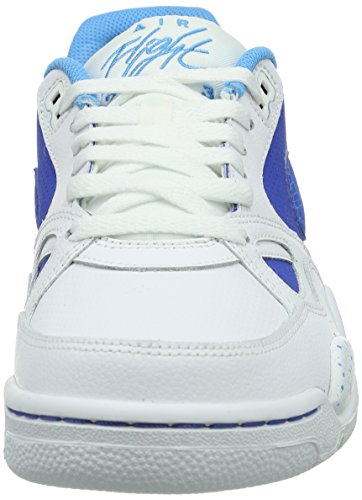 Nike Flight '13, basket homme Blanc - Weiß (Game Royal/Gm Ryl-White-Vvd Bl)