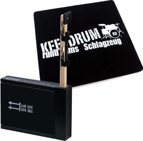 Schlagwerk SET 75 Heck Stick/Side Kick + keepdrum Cajon Pad GRATIS!
