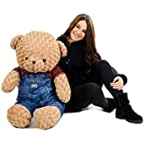 """Large Teddy Bear Fashion Cute Giant Huge Big Bears Kids Gift Present Large Teddy Bear Soft Toy Plush Cuddly Cosy Huge Stuffed Plush Enormous Giant * 35 """" 90 CM * * SPECIAL OFFER * ✔FREE NEXT DAY DELIVERY✔UK SELLER✔PREMIUM QUALITY✔"""