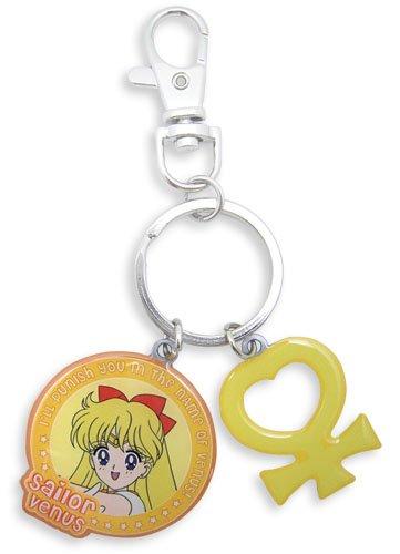 Great Eastern Entertainment Sailormoon Sailor Venus & Symbol Metal Keychain