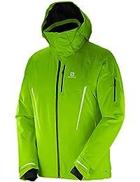 Salomon Speed Jkt M - Chaqueta para hombre, color verde, talla L