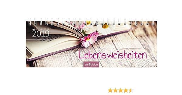 Lebensweisheiten 2019: Tischkalender: Amazon.de: Bücher