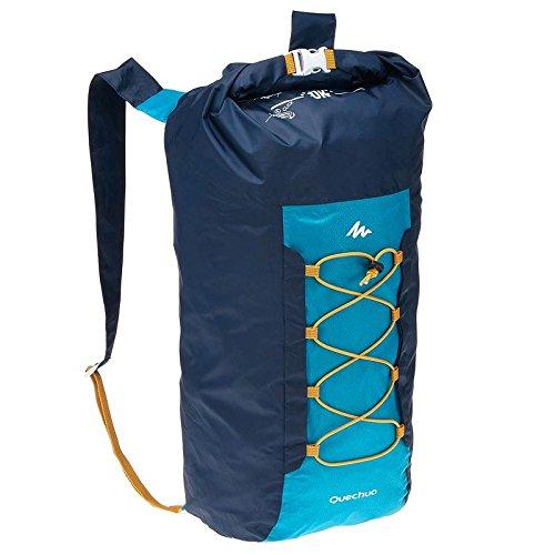 Quechua Ultra Compact pliable 20litre Sac à dos/sac à dos pour le camping extérieur festivals, 8357283, bleu