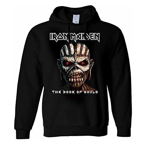 Felpa Hoodie Book of Souls Iron Maiden (Nero) - XX-Large