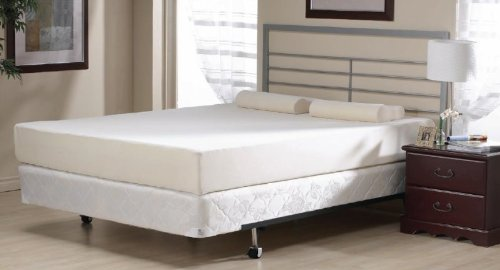 Viceroybedding New 4ft 6″ UK Double Size 8″ inch (200mm/20cm) High Quality Memory Foam Mattress ***Now Includes Plush Velour Zip-Off Removeable And Machine Washable Anti-Bacterial Cover***