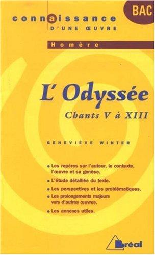 L'Odyssée, Homère : Chants V à XIII
