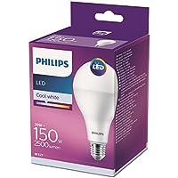 PHILIPS LAMPADINA LED GOCCIA IN VETRO 150W E27 (LUCE NATURALE) 4000K NON DIMERABILE
