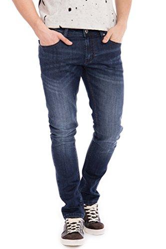 WAY OF GLORY 5 pocket Jeans - Justin - slim fit mit Sitzfalten Justin Herren Slim Fit Casualmode 1001280