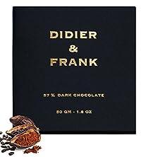 Didier & Frank - 57% Dark Chocolate - 50gm (Luxury Dark Chocolate)