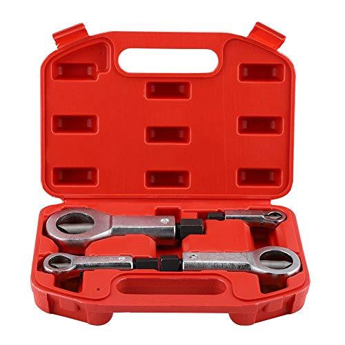 10 /× 3 cm // 3,94 /× 1,18 Zoll 9-27 MM 5//16-7//8 gleitende Zahnmutter Manuelles Entfernen der Bremse Metallmutter-Bremse Manuelle Druckwerkzeuge Nuss-Splitter-Cracker-Entferner