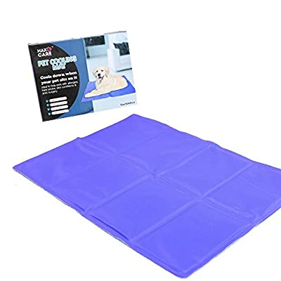 Raxter Dog Cat Pet cooler Cooling Cool Gel Mat Bed Pad 60 x 44cm Purple By