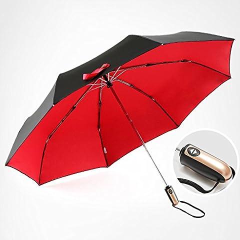 Le Vent De La Violence - Parapluie pliant automatique double-clé à un bouton