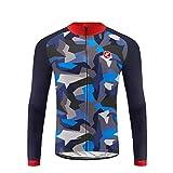 Uglyfrog Bike Wear Winter Radtrikot Herren Langarmtrikot Fahrradjacke Jersey Sportswear Atmungsaktiv Lange Ärmel Winddicht Coat